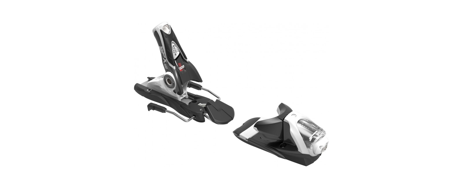 bindings SPX 12 DUAL WTR B120 BLACK WHITE