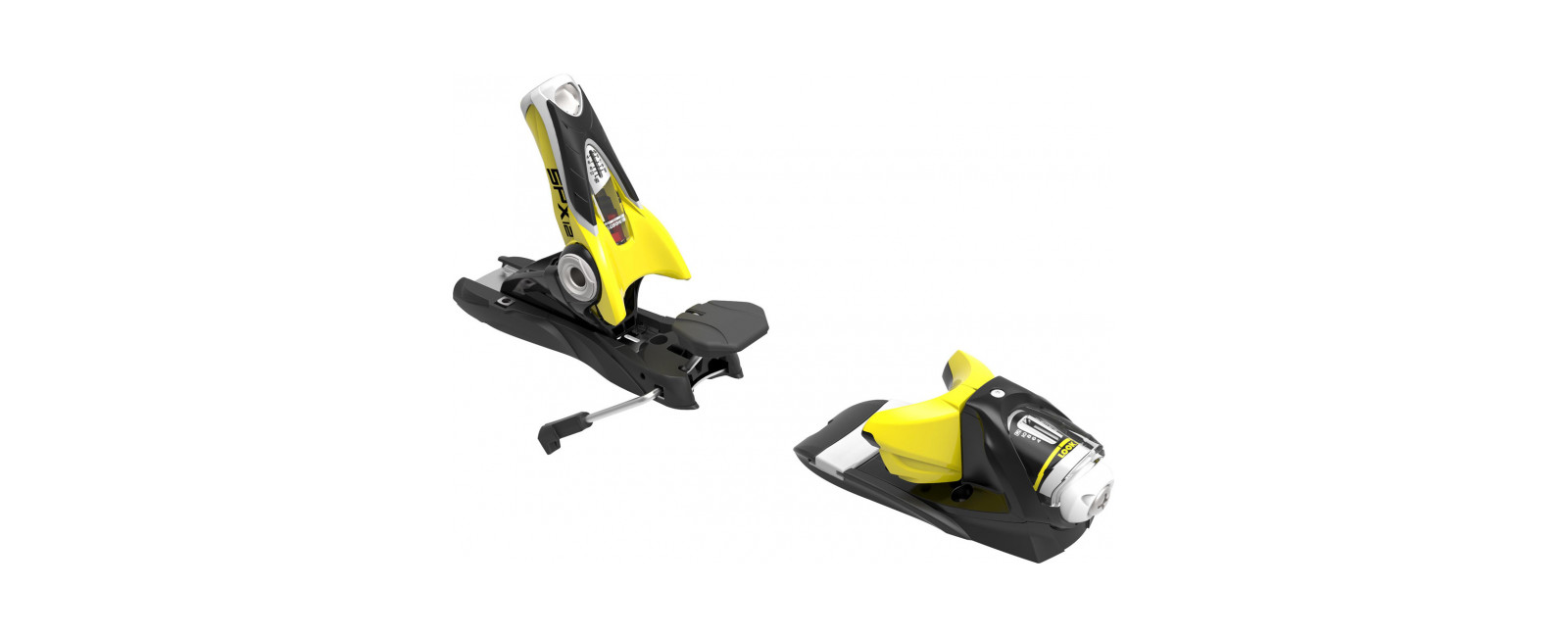 bindings SPX 12 DUAL WTR B120 BLACK YELLOW