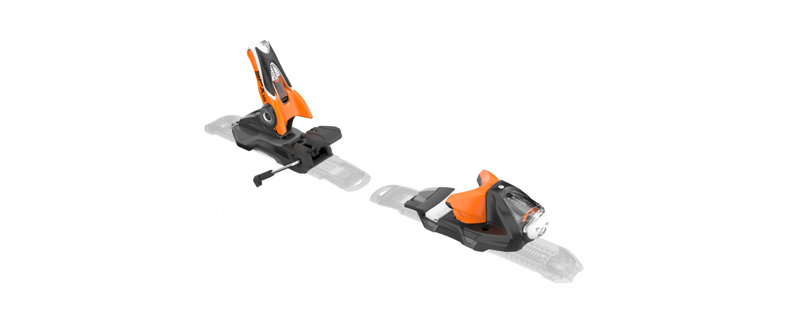 bindings SPX 12 KONECT DUAL WTR B80 BLACK ORANGE