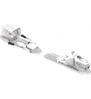 bindings KID-X 4 B76 WHITE/SILVER