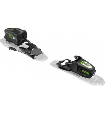 bindings KID-X 4 B76 BLACK/GREEN