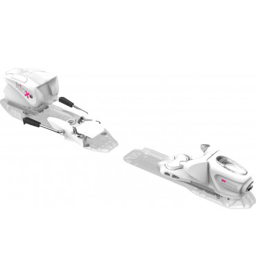 bindings KID-X 4 B76 WHITE/SILVER