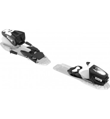 bindings KID-X 4 B76 BLACK/WHITE