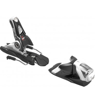 bindings SPX 12 DUAL WTR B100 BLACK WHITE